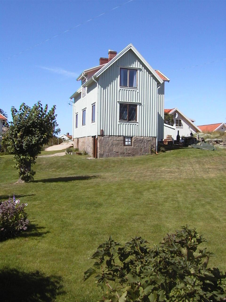 Husets framsida